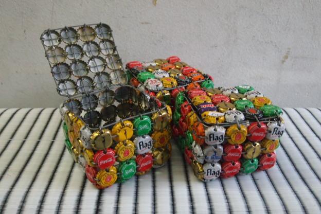Bottle top boxes. £18